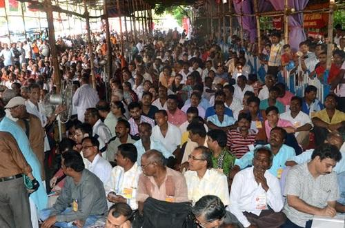 Kolkata Dharna in Support of Sept 2 workers strike