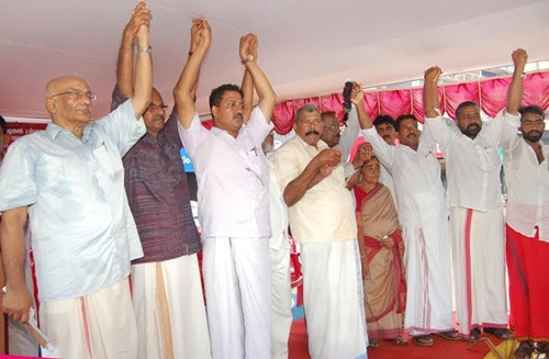 Kerala Protest on August 1, 2015