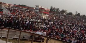 Tripura rally starting
